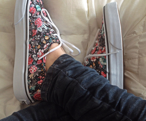 vans love shoes blumen image