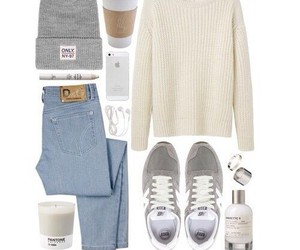 look, outfit, and jeans image