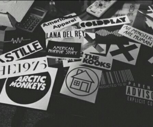music, coldplay, and arctic monkeys image