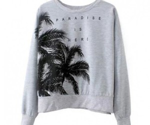 letters shirt and palm print image