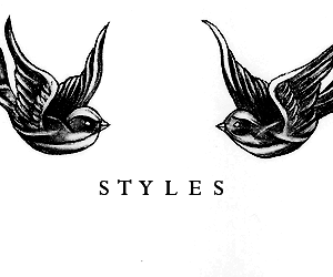 Harry Styles, tattoo, and bird image