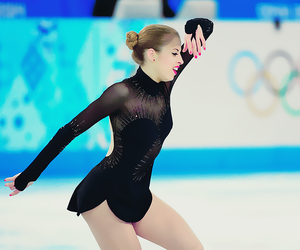 figure skating, olympics, and carolina kostner image