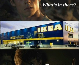 ikea, thomas, and funny image