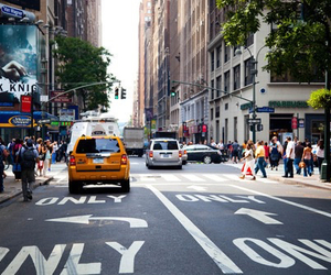 new york, city, and car image