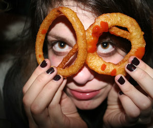 cory kennedy, rich girl, and onion rings image