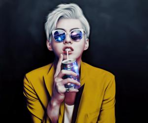 exo, kris, and fanart image