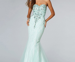 long prom dresses and strapless prom dresses image
