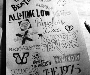bands, bmth, and green day image