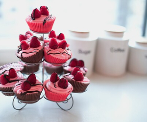 cool, cup cakes, and food image