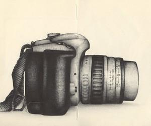 camera, art, and drawing image