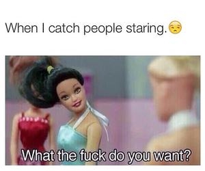 barbie, bitch, and funny image