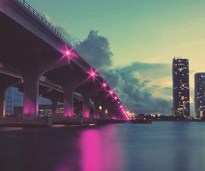 city, bridge, and wallpaper image