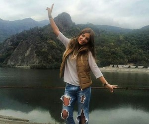 fashion, holiday, and mountains image