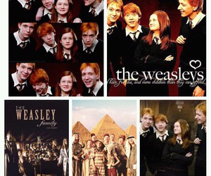 harry potter, the weasleys, and ginny harry potter image