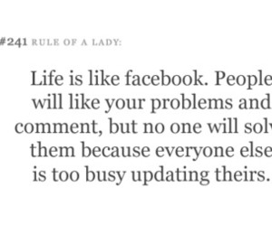 facebook, life, and quote image
