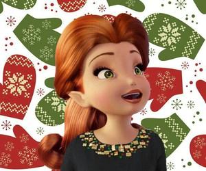 disney, fairy, and winter image