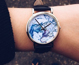 blue, leather, and time image