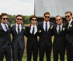 boys, robert pattinson, and wedding image