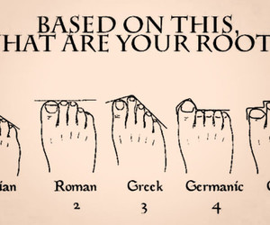feet, roots, and greek image