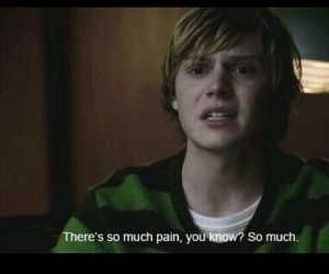 pain, tate, and evan peters image