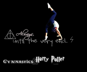 always, deathly hallows, and gymnastics image