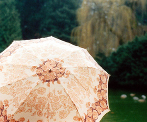 hipster, indie, and umbrella image