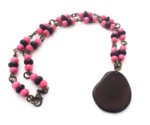fashion jewelry, women's jewelry, and pink image