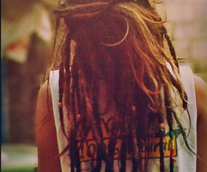 420, dreads, and hippie image
