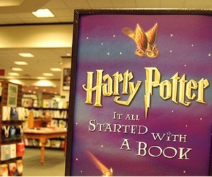 books, jk rowling, and magic image