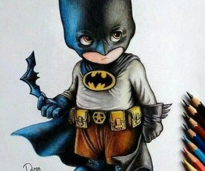 batman, drawing, and art image