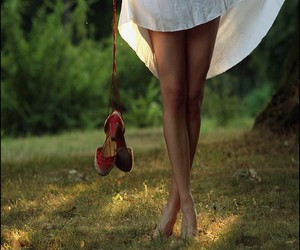 girl, shoes, and legs image