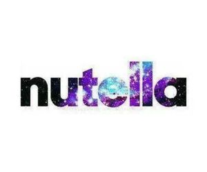 nutella, galaxy, and food image