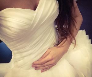 bride, dresses, and preparation image