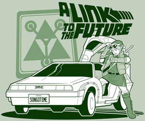 Back to the Future and zelda image
