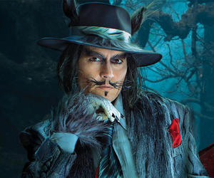 johnny depp, into the woods, and movie image