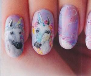 beautiful, nail polish, and nails image