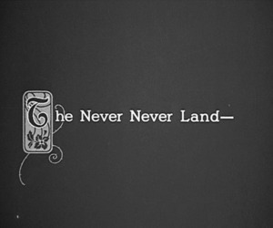 text and never land image