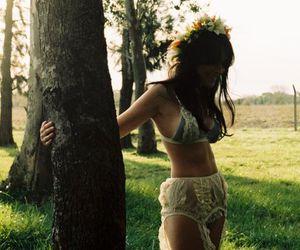 beautiful, corset, and encaje image