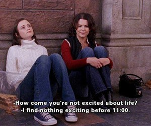 funny, lolz, and gilmoregirls image
