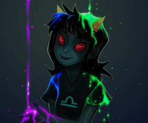 homestuck and terezi pyrope image