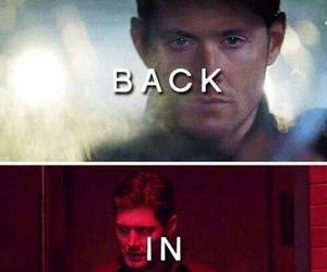 supernatural, Jensen Ackles, and back in black image