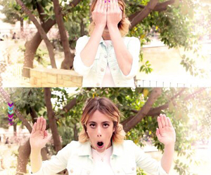 face, violetta, and martina stoessel image