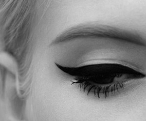 eye, eyeliner, and eyes image