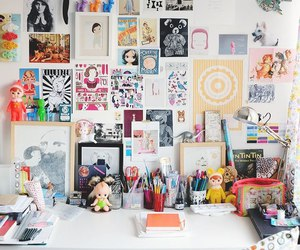 study, office, and desk image