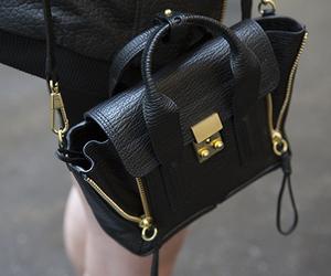 fashion, black, and gold image