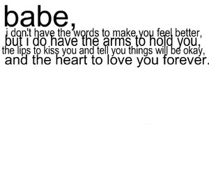 love, babe, and forever image
