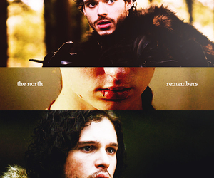 richard madden, game of thrones, and jon snow image