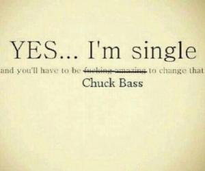 chuck bass, single, and gossip girl image