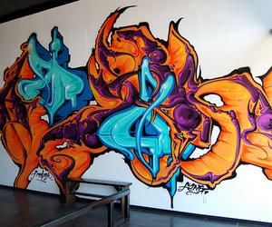 augor graffiti, msk graffiti, and los angeles graffiti image