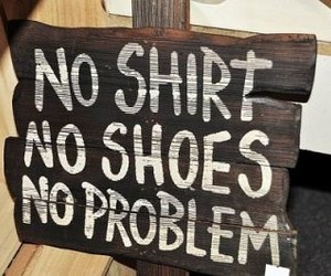 problem, shirt, and shoes image